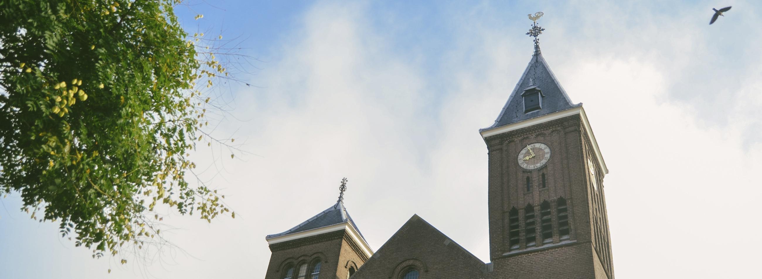banner kerk