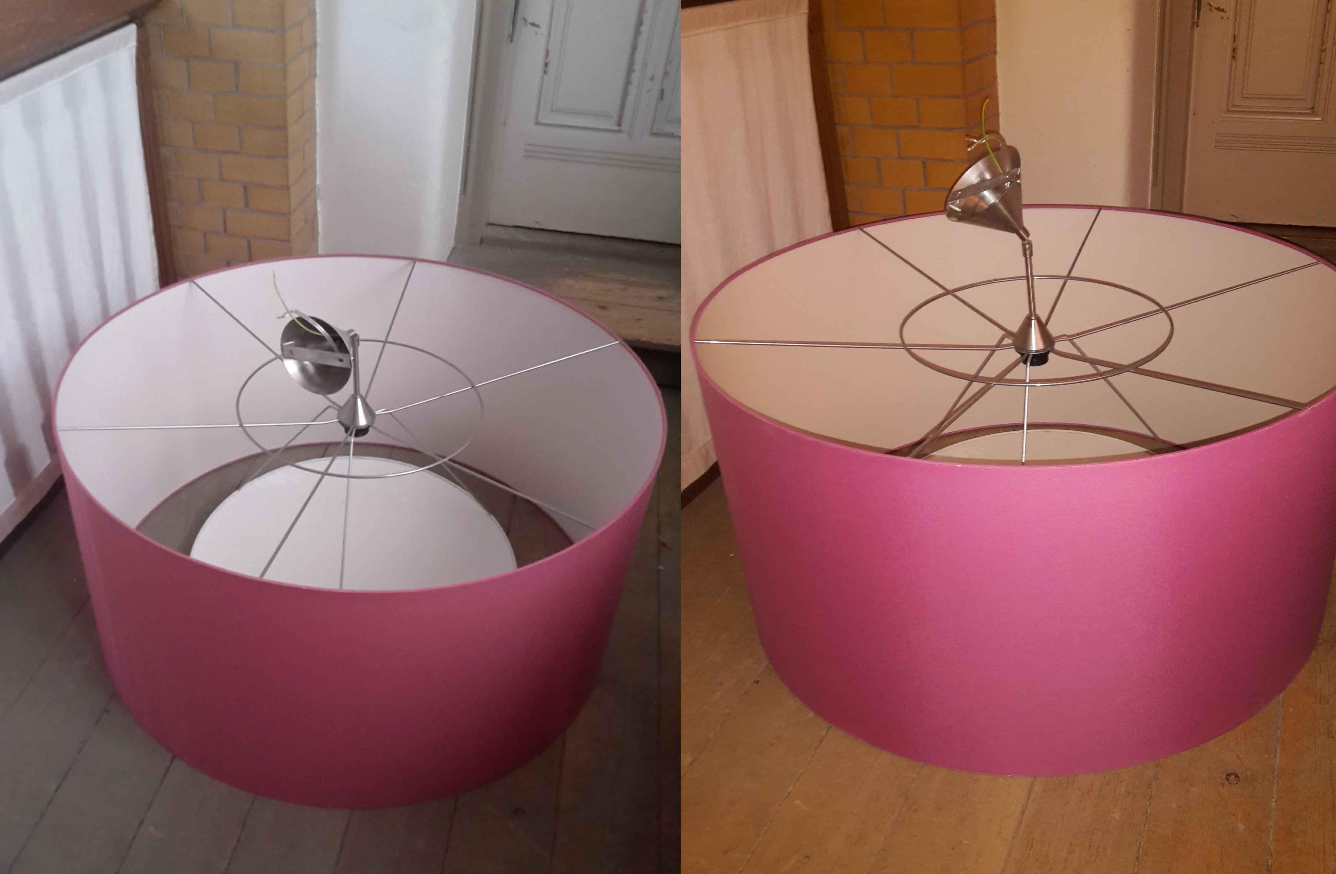 Gratis roze lampen af te halen