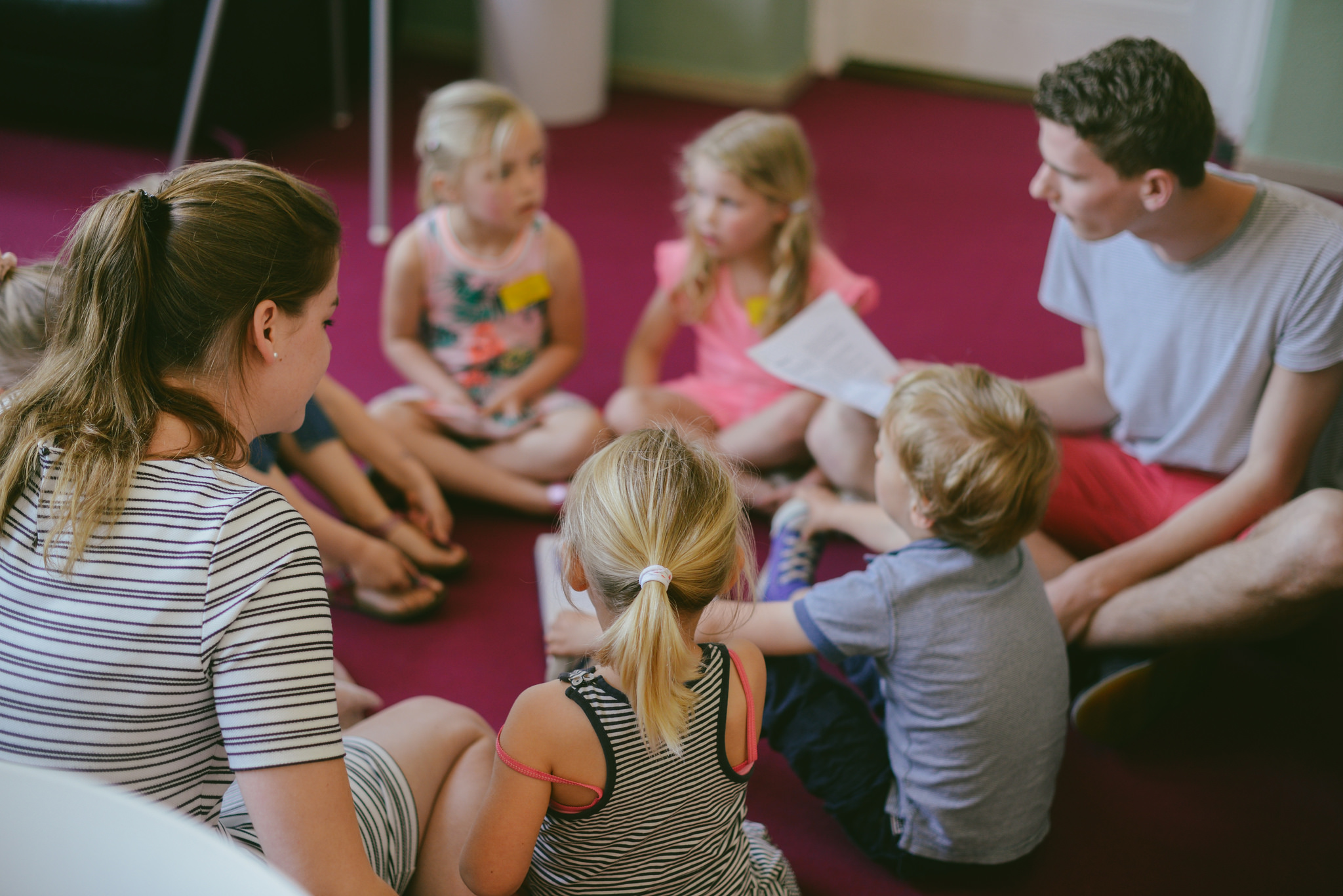 Start school: Kindernevendienst vanaf zondag in je nieuwe groep
