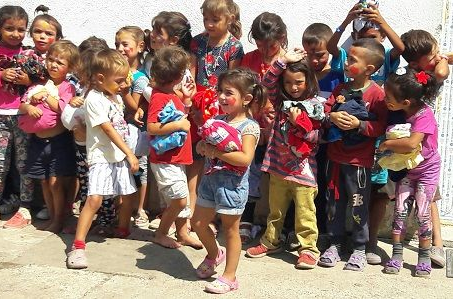 Adventscollecte voor naschools programma Roemeense zigeunerkinderen