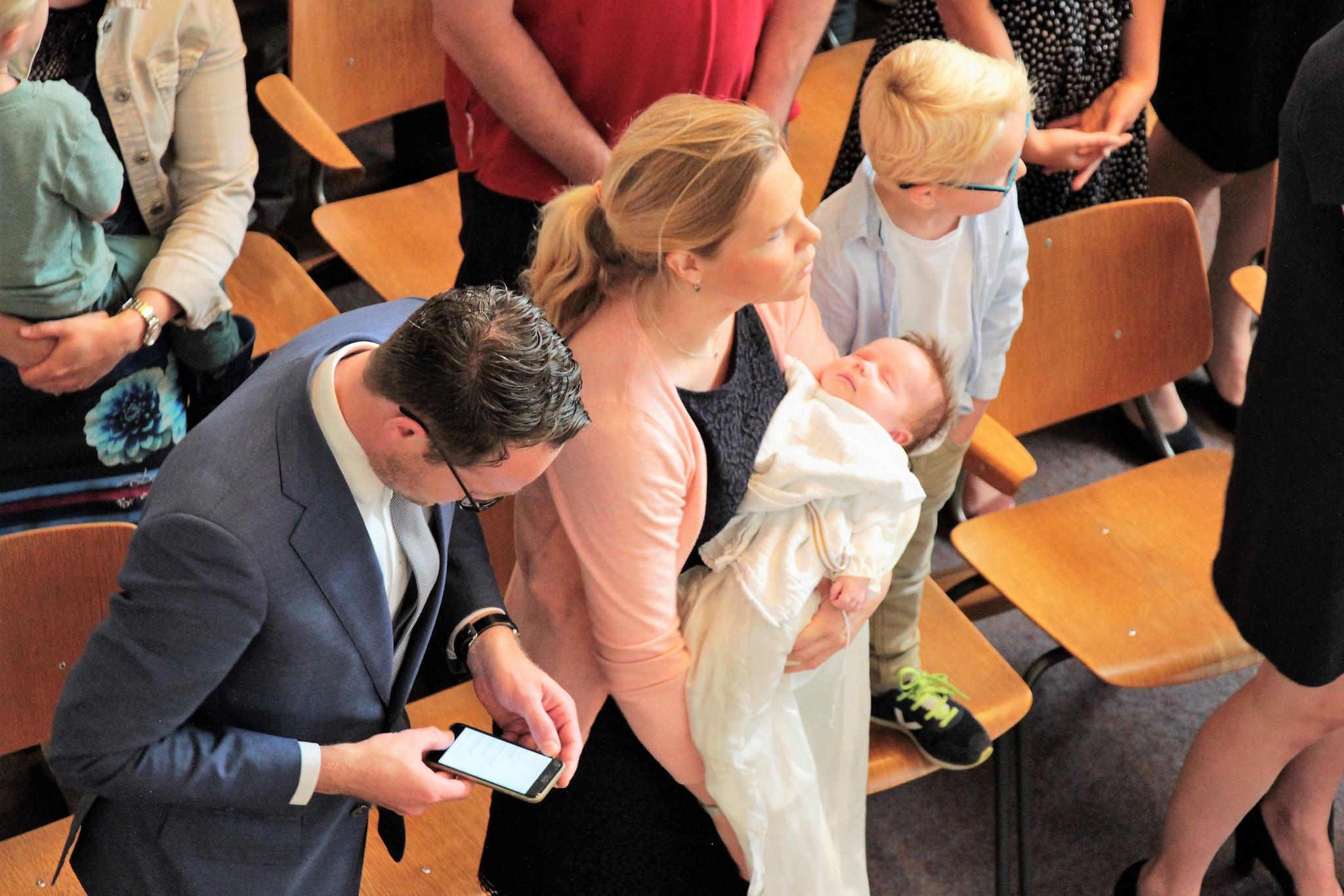 Dopelingen aanmelden doopdienst 4 februari
