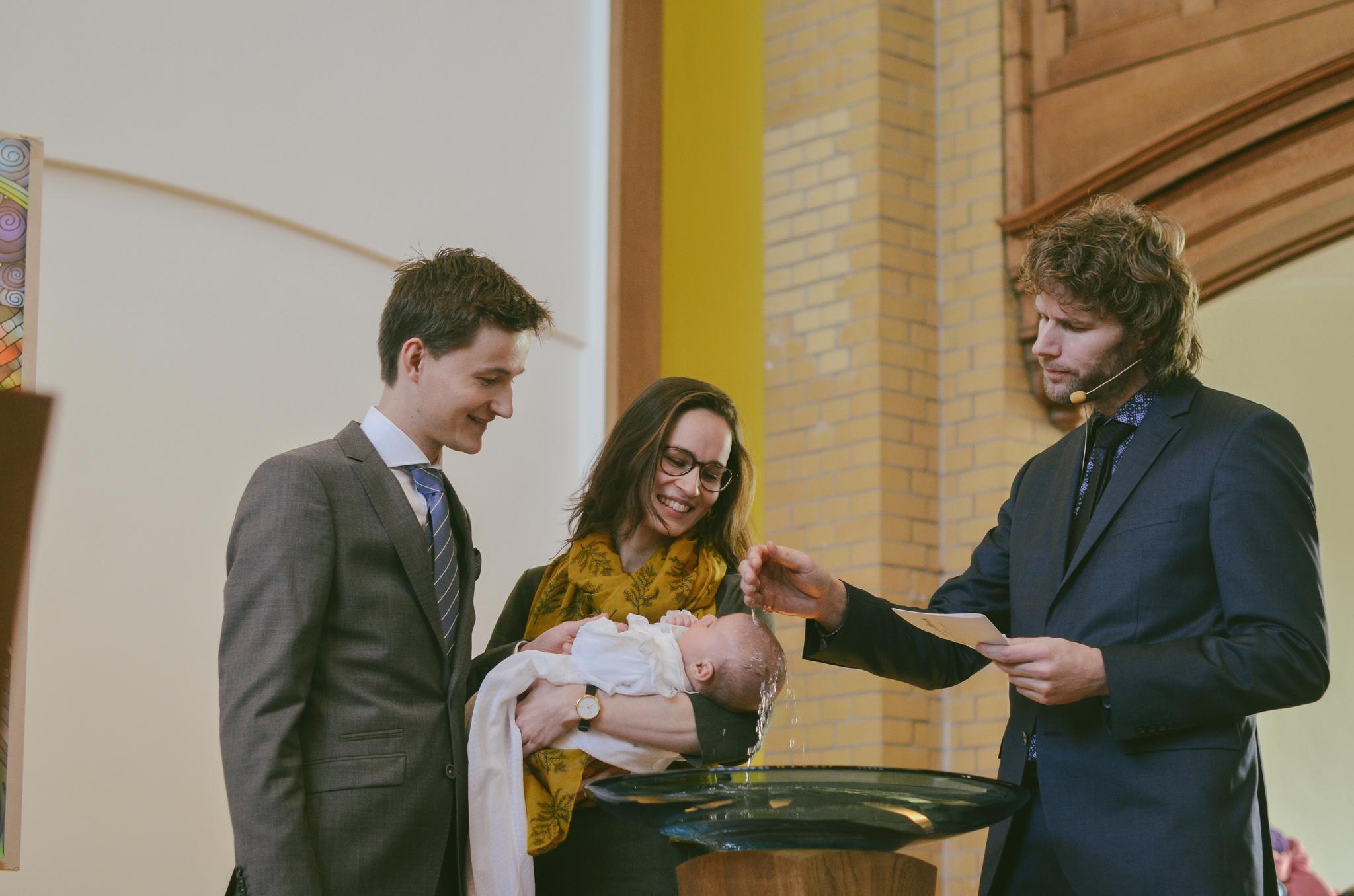 Een Fotokijkje: doopdienst op 4 maart