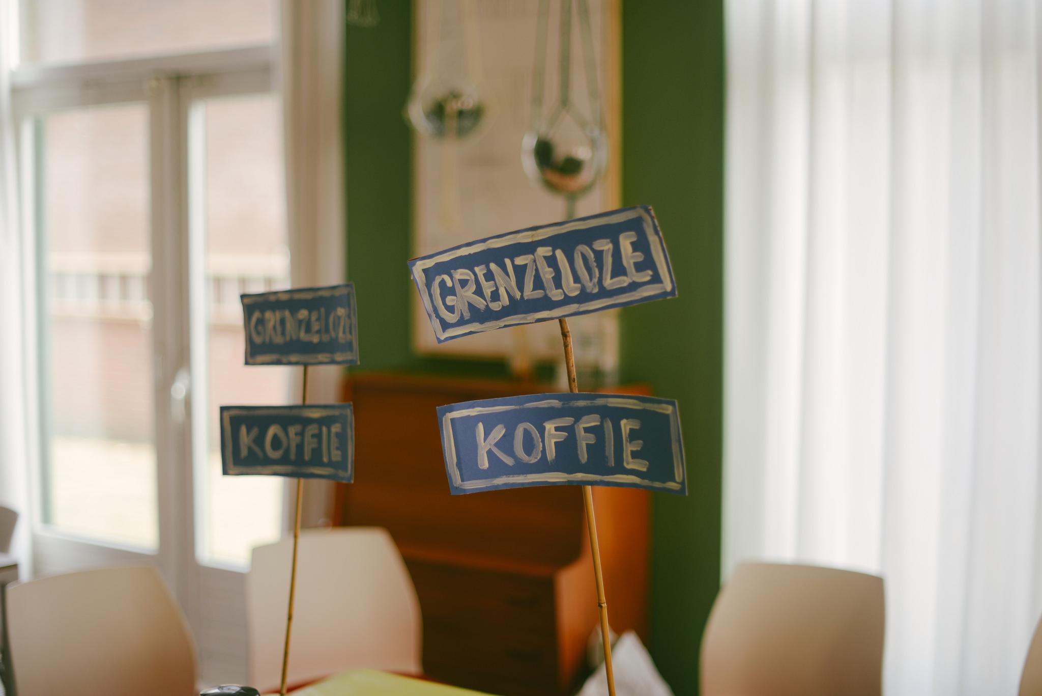 Grenzeloze koffie na de dienst