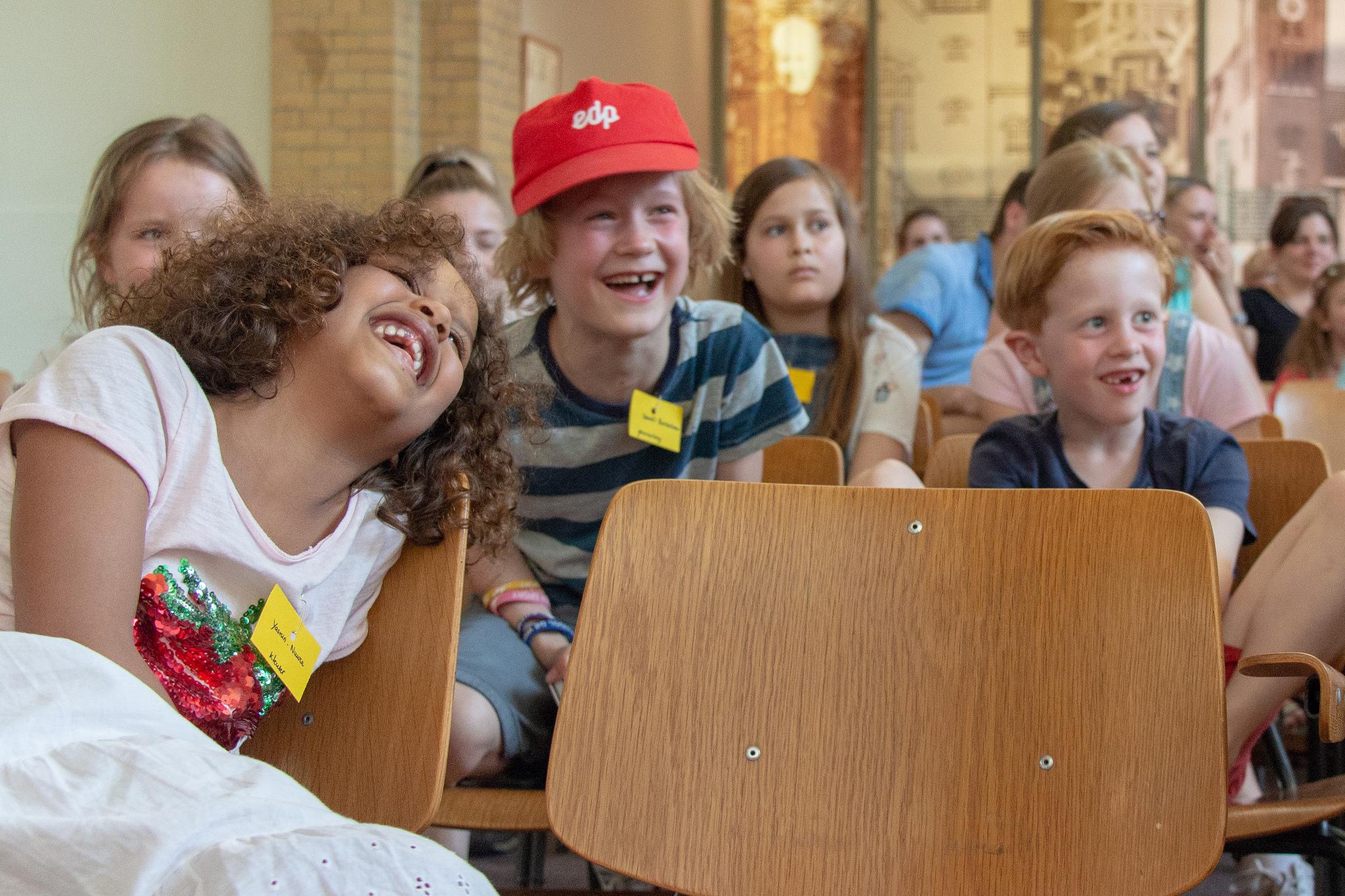 Kinderdienst komende zondag in de Warmoes!